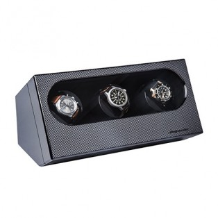 Watch-a-Round 3 Watch Winder Carbon