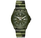 Traser P96 Soldier Camouflage Rubber Horloge