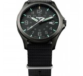 Traser Officer Pro Gunmetal Black Horloge