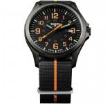Traser Officer Pro Gunmetal Black Orange Horloge