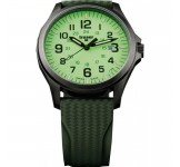 Traser Officer Pro Gunmetal Lime Horloge