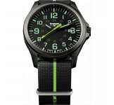 Traser Officer Pro Gunmetal Black Lime Horloge