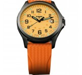 Traser Officer Pro Gunmetal Orange Horloge