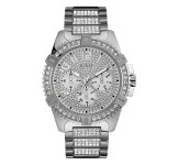 Guess Frontier W0799G1 Silver Horloge