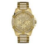 Guess Frontier W0799G2 Goud Horloge
