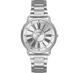 Guess Kennedy 41mm Zilver Dameshorloge