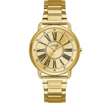 Guess Kennedy 41mm Goud Dameshorloge