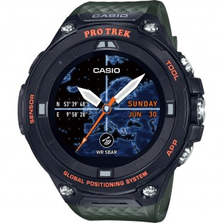 Casio Pro Trek WSD-F20A-GN Outdoor Smartwatch