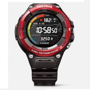 Casio Pro Trek WSD-F21HR-RD RDBGE Outdoor HRM Smartwatch 58 mm