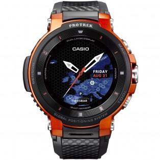 Casio Pro Trek WSD-F30-RG Outdoor GPS Smartwatch 54mm