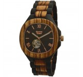 GreenTime ZW073A Automatic Houten Horloge