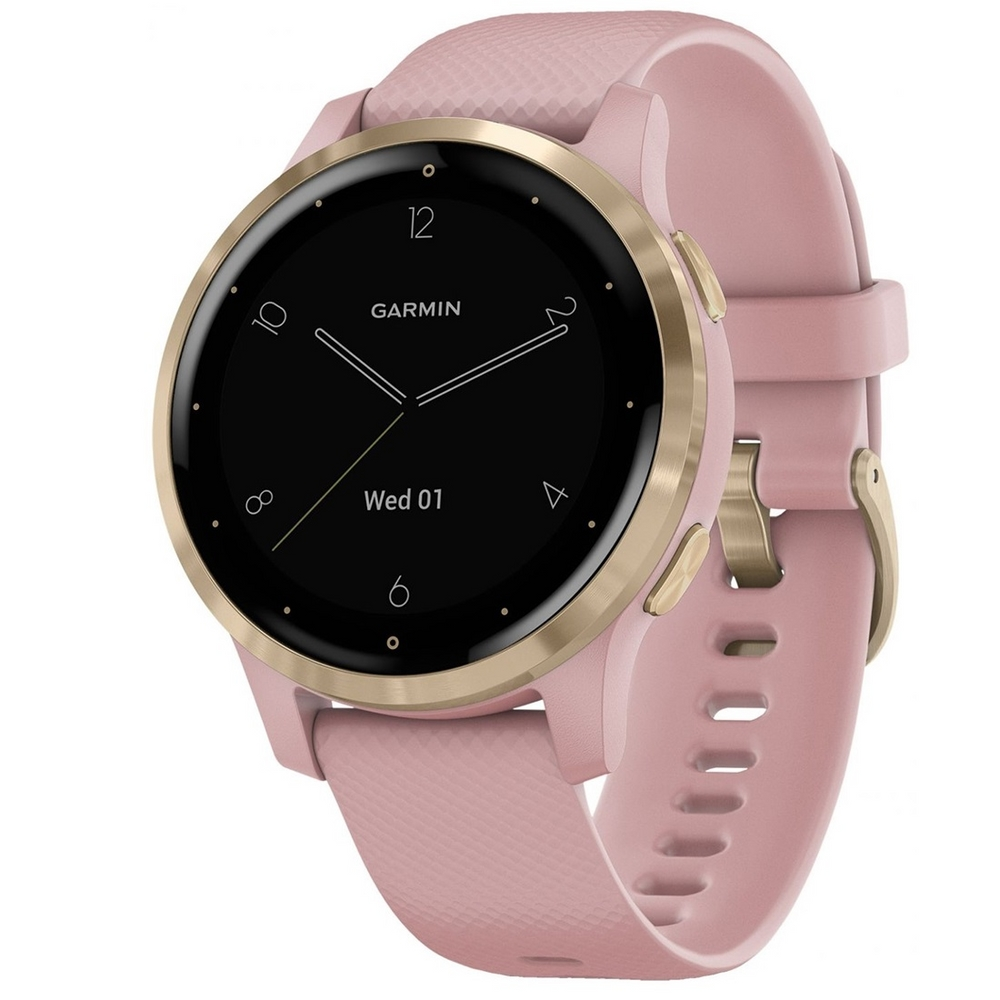 Garmin Vivoactive 4S Smartwatch 40mm Dust Rose Gold