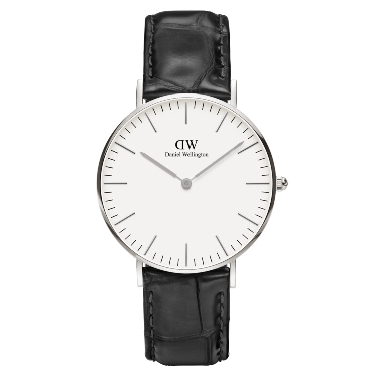 Daniel Wellington Classic 40mm Reading Silver