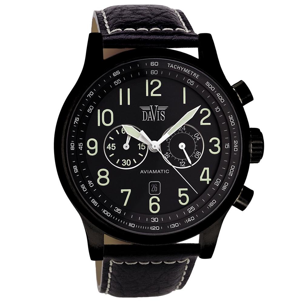 Davis Aviamatic Watch 48mm 0452
