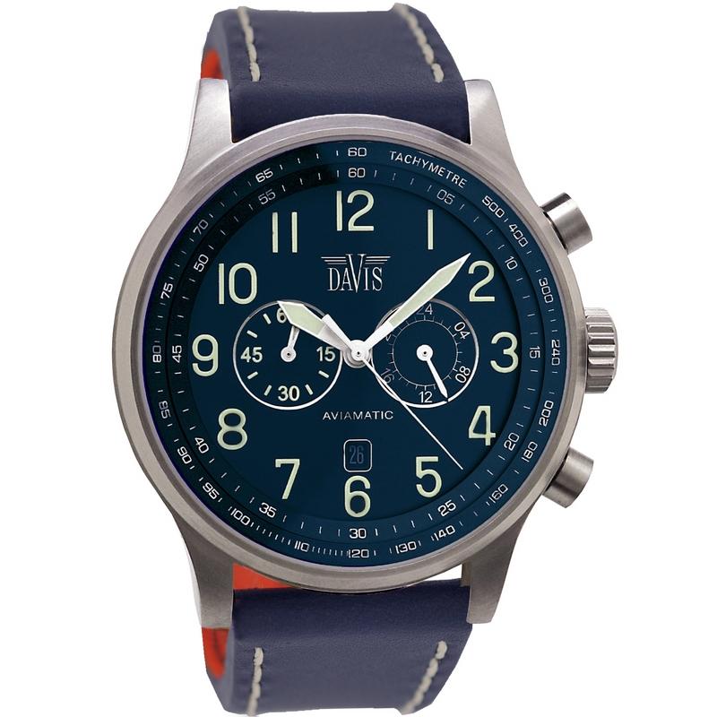 Davis Aviamatic Watch 48mm 0455