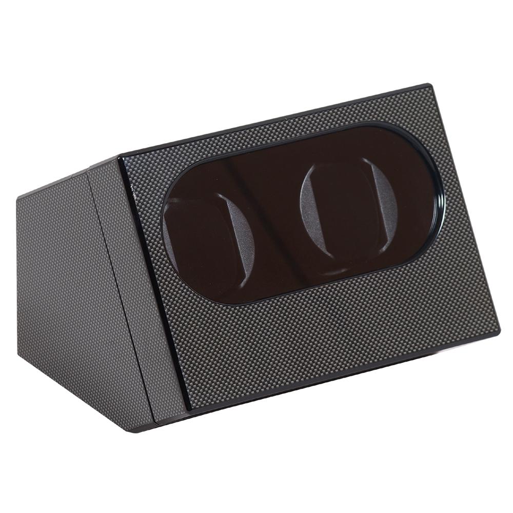 Watch-a-round Duo Watchwinder Carbon
