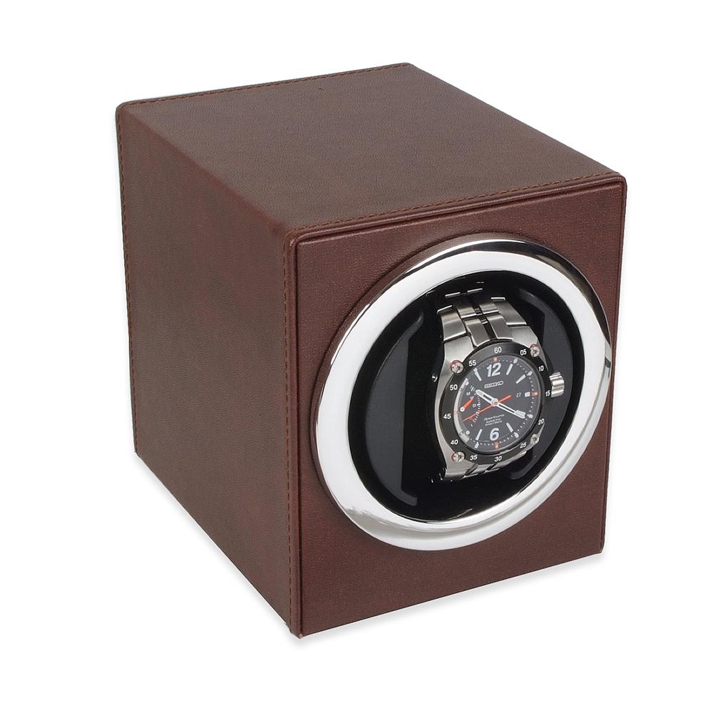 Watch-a-round Battery Watchwinder Brown