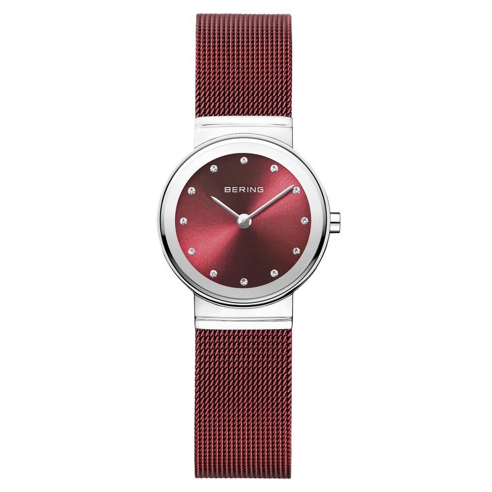 Image of Bering 10126-303 Polished Silver Red Dameshorloge 12036061