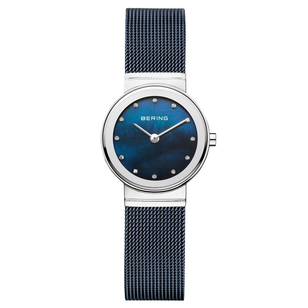 Image of Bering 10126-307 Polished Silver Blue Dameshorloge 12036062