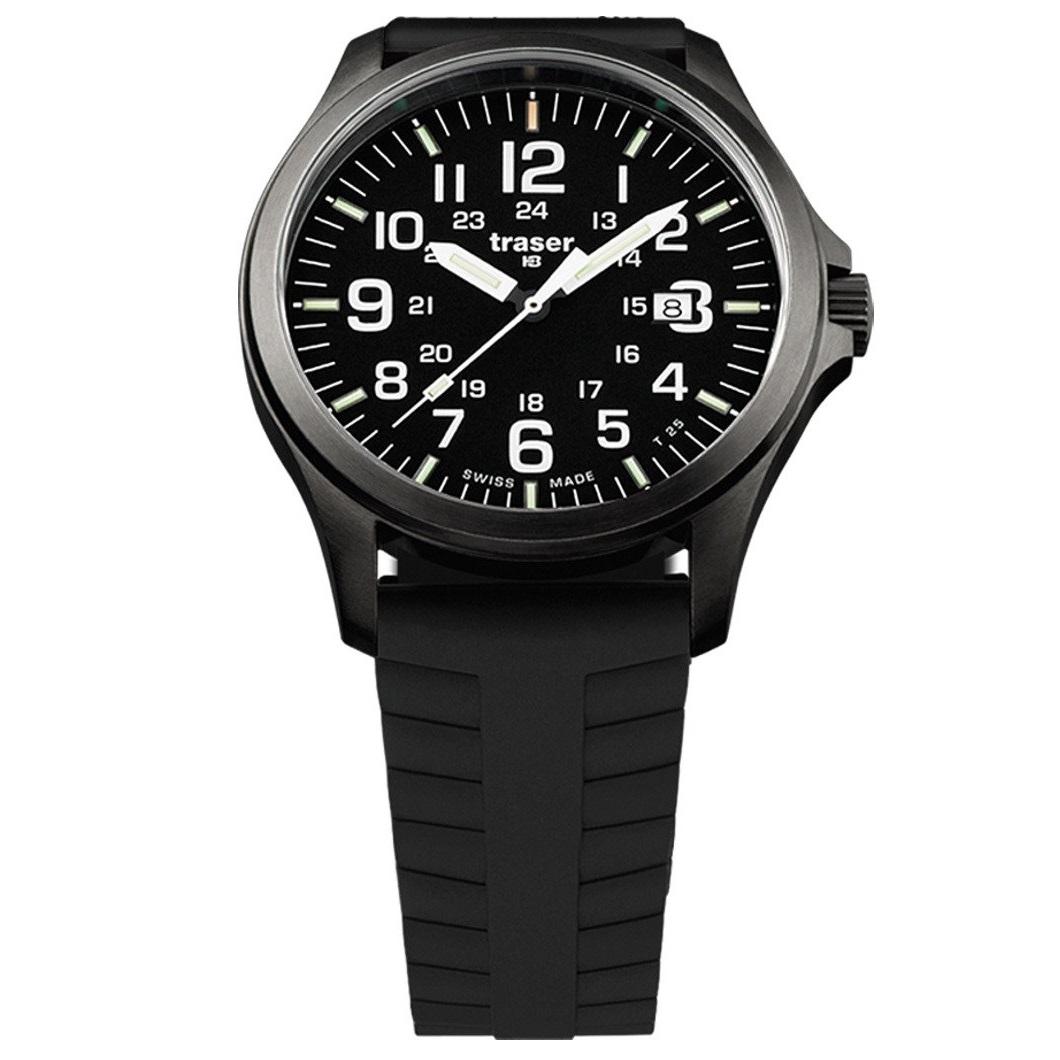 Traser P67 Officer Pro Silicone Horloge 107103