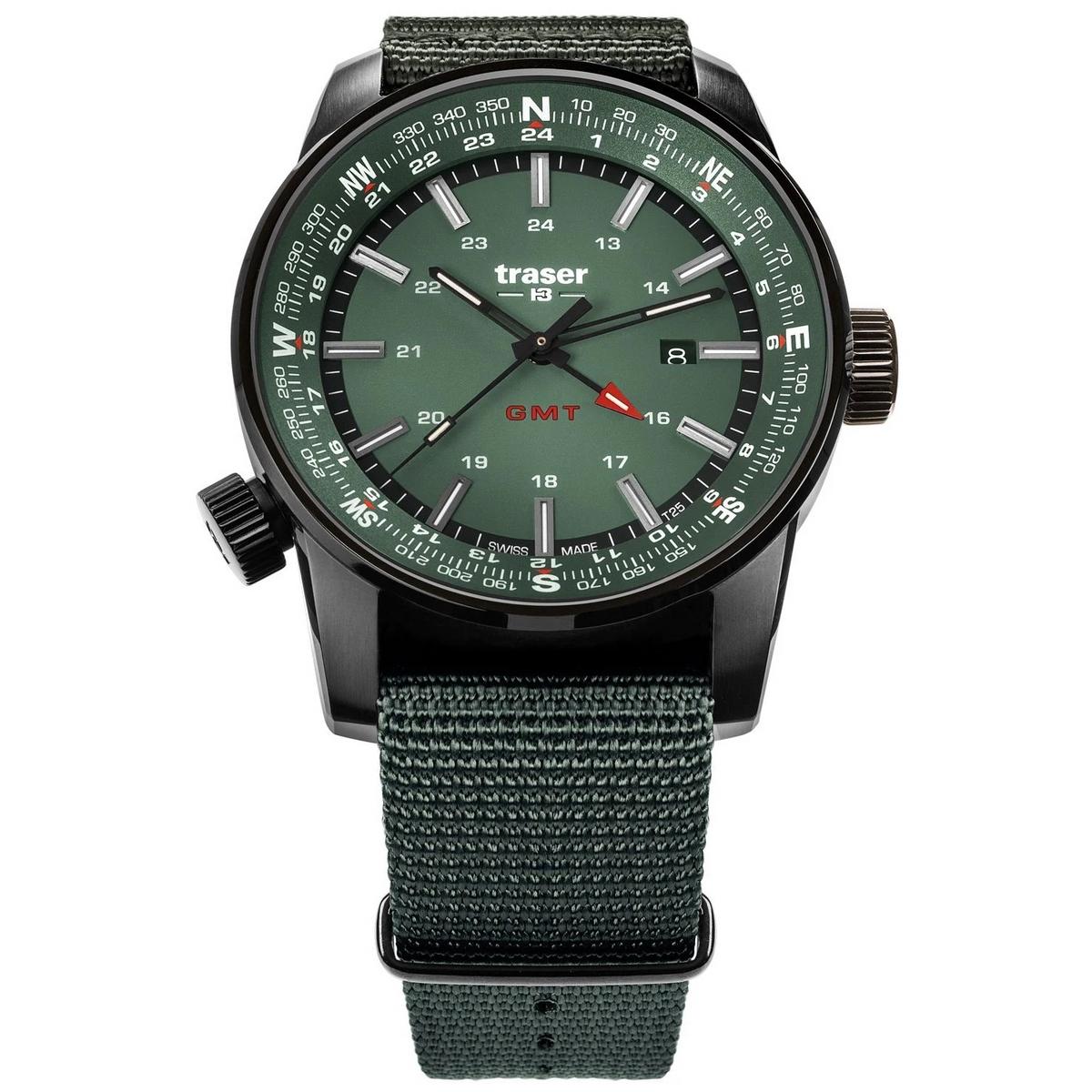 Image of Traser P68 Pathfinder GMT Green 12037080
