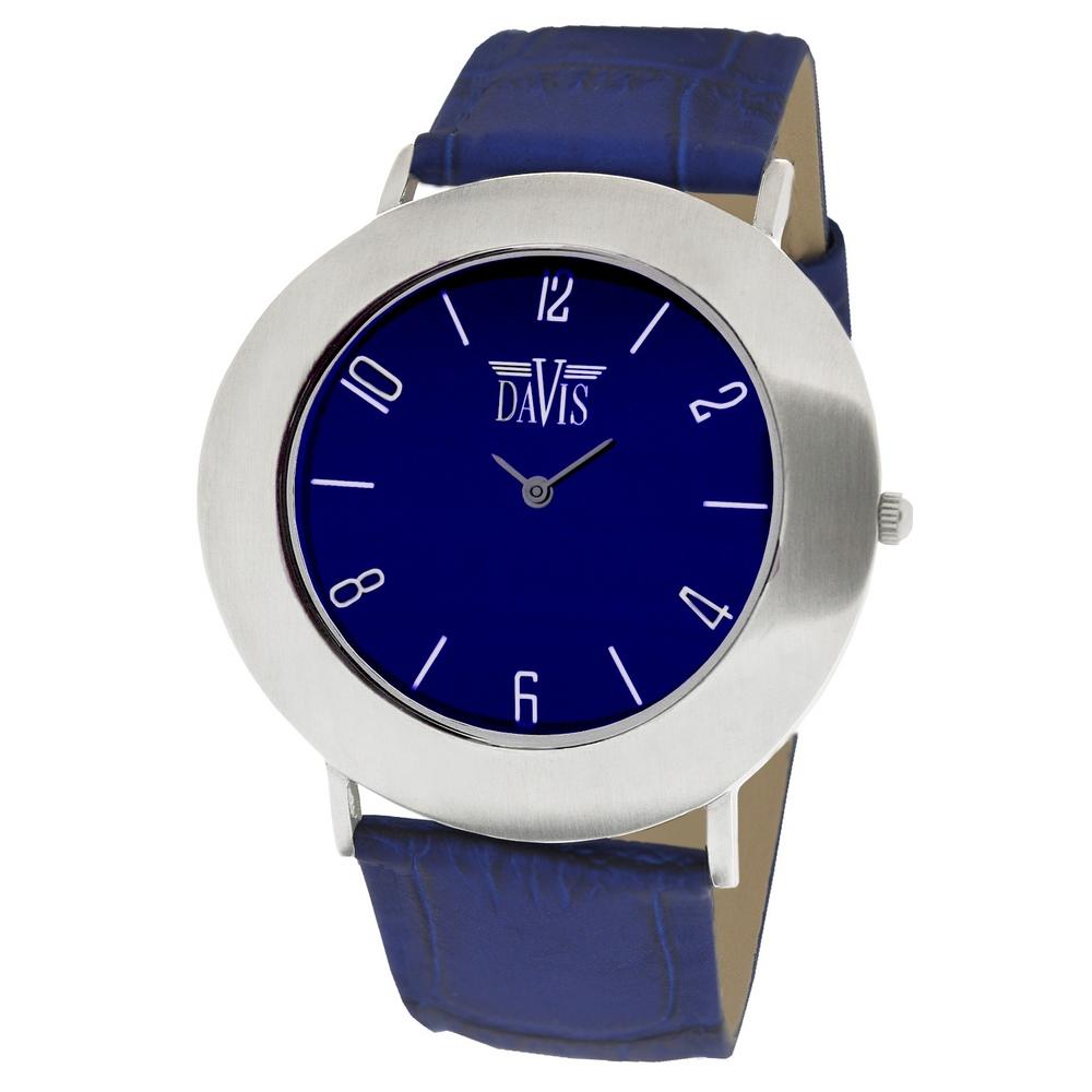 groothandel designer mode outlet winkel verkoop Davis 1424 Blossom Blauw Dameshorloge | Leuke Horloges.nl