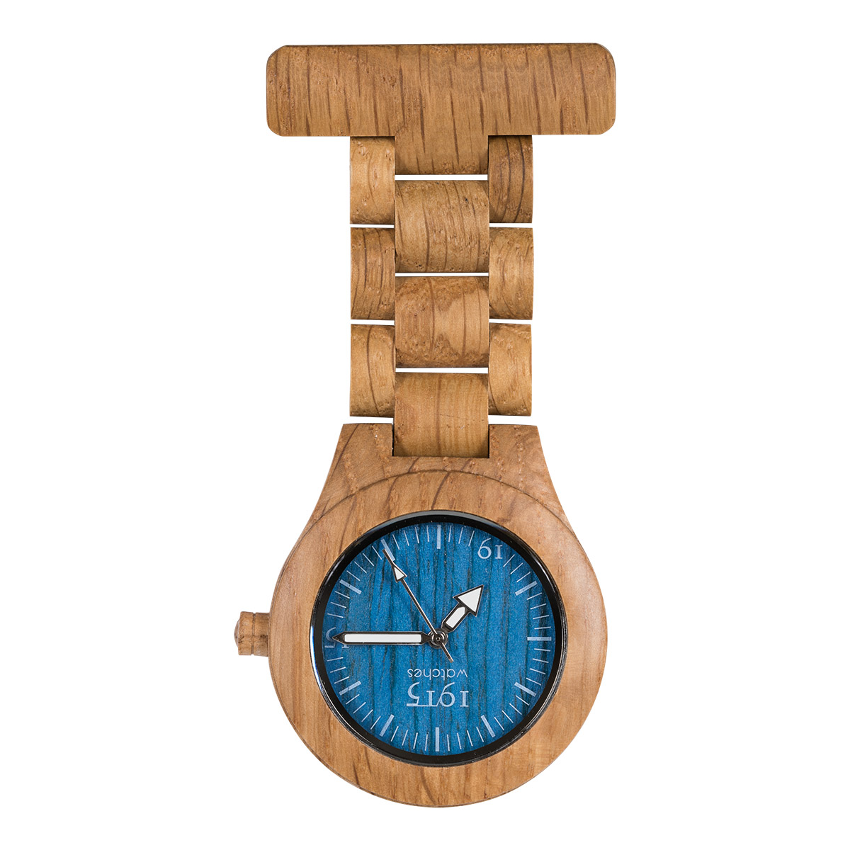 1915 Watch Model-T Oak Blue Verpleeghorloge