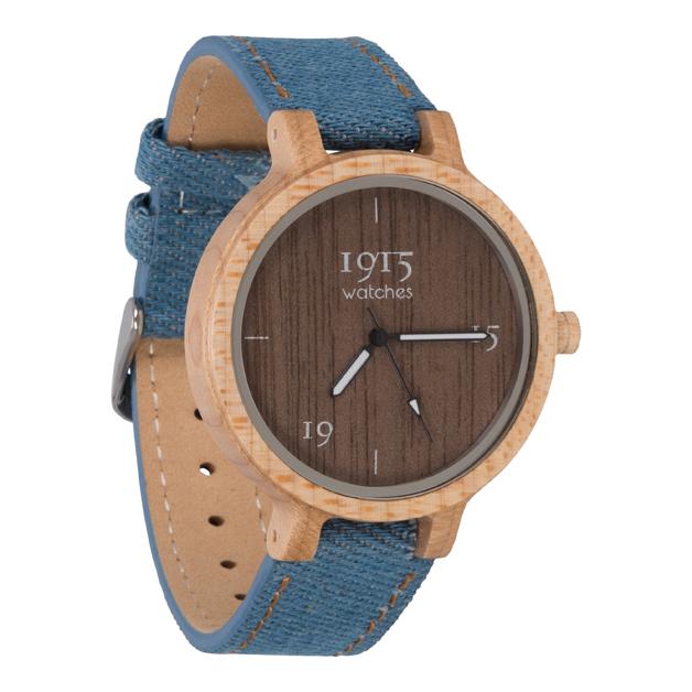 Image of 1915 Watch Raw Denim Lady 38mm Horloge 12035296