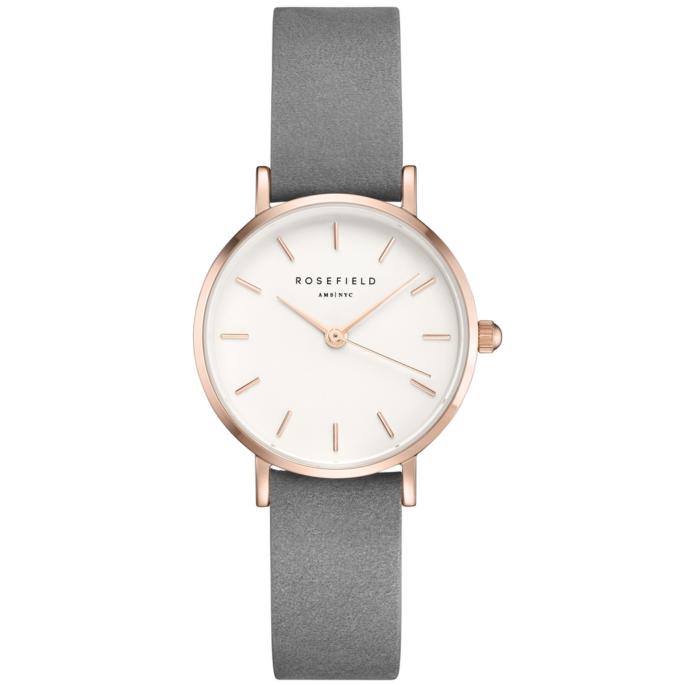 Rosefield The Small Edit White Grey Rose Gold