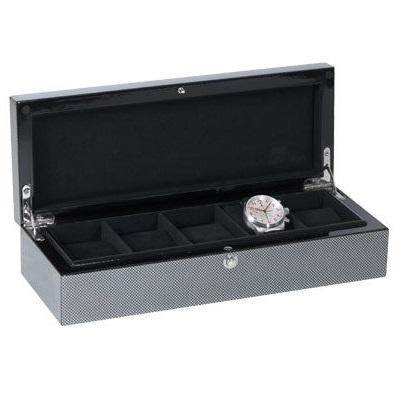 Beco Technic Horlogekist Cool Carbon 309314
