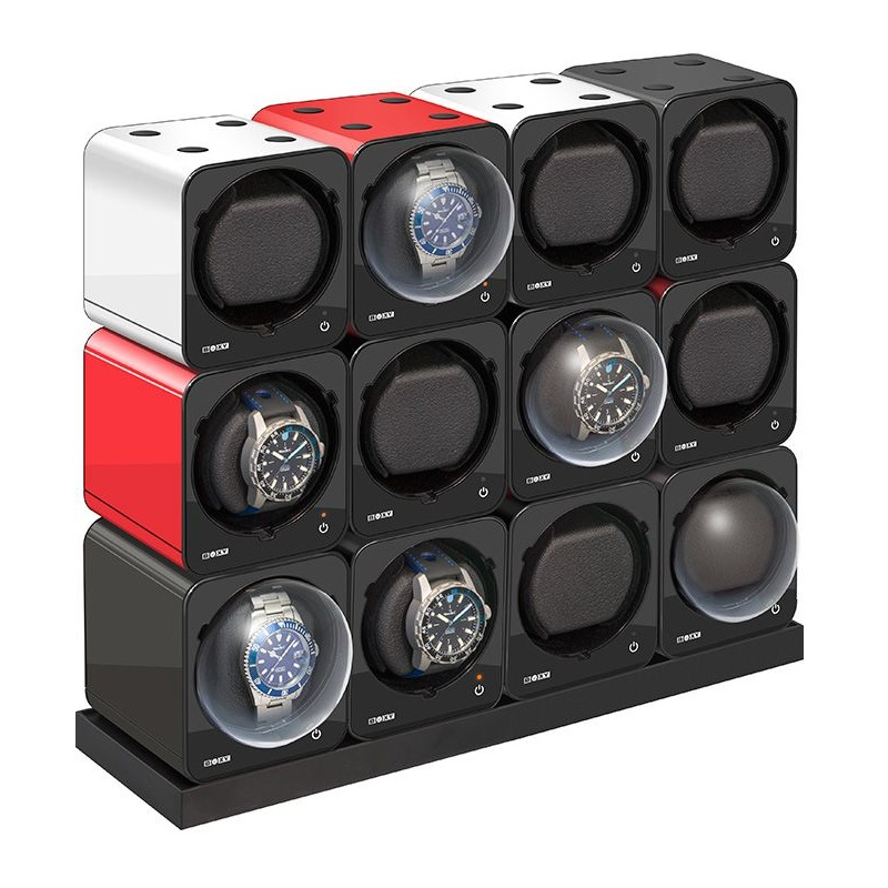 Beco Technic Boxy Fancy Brick Watchwinder Set 12