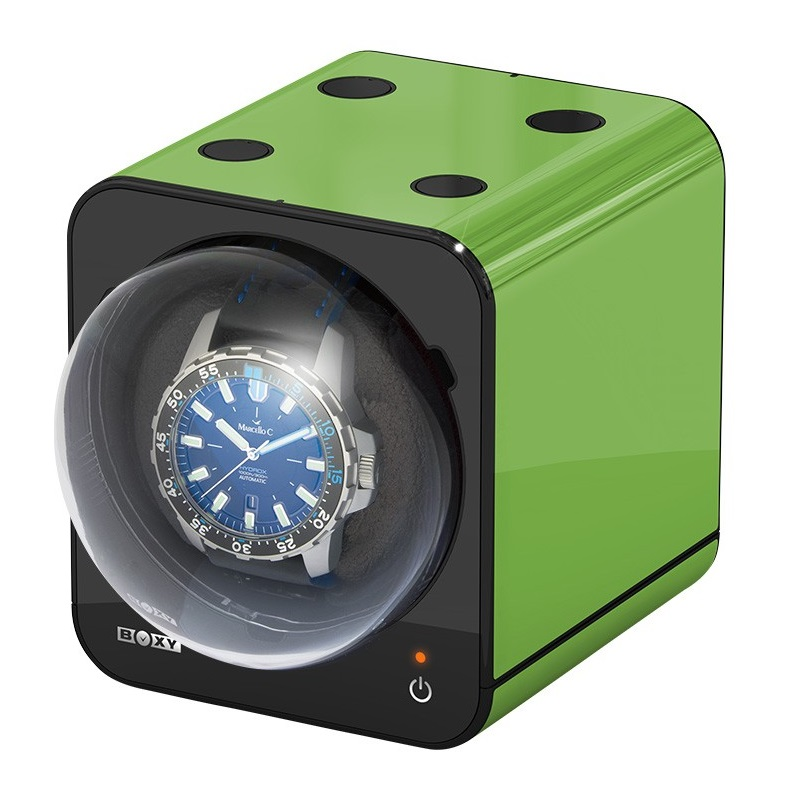 Beco Boxy Fancy Brick Green Watchwinder
