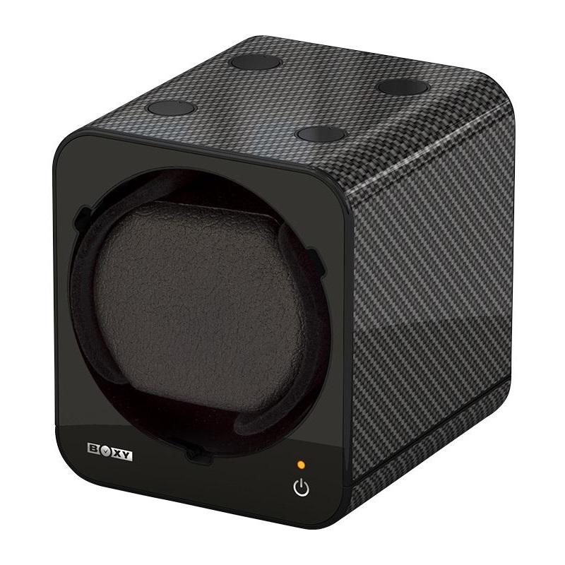 Beco Boxy Fancy Brick Carbon Watchwinder