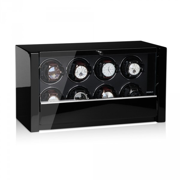 Modalo Victory Automatic 8 Watch Winder Black