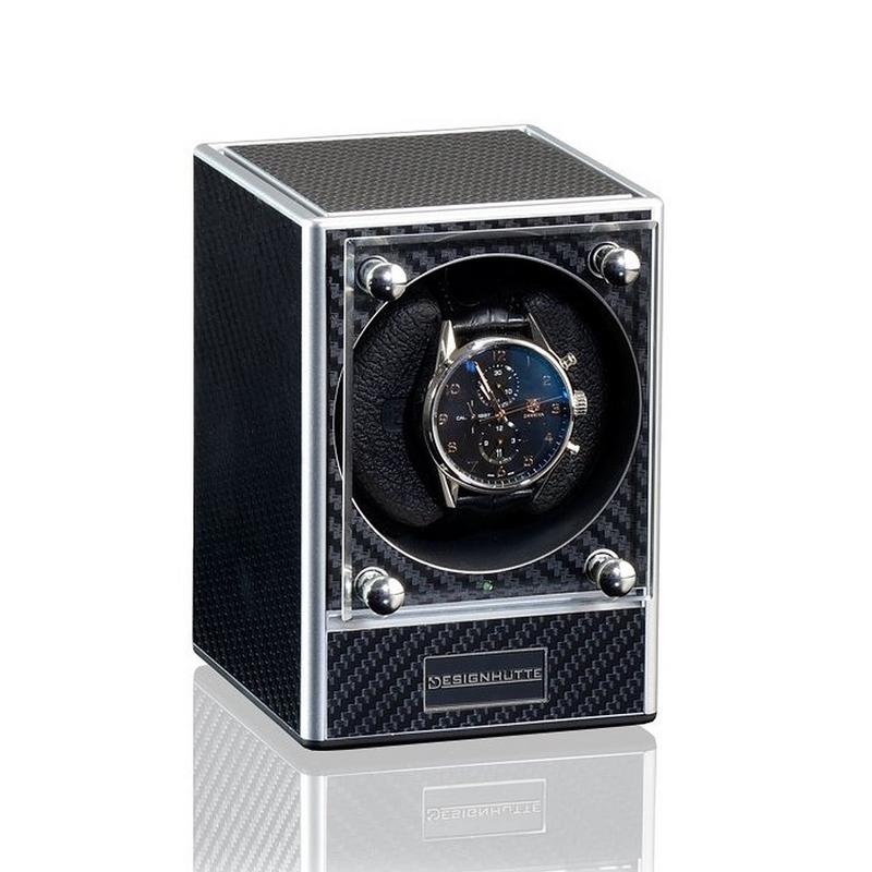 Designhuette Piccolo Carbon Style watchwinder
