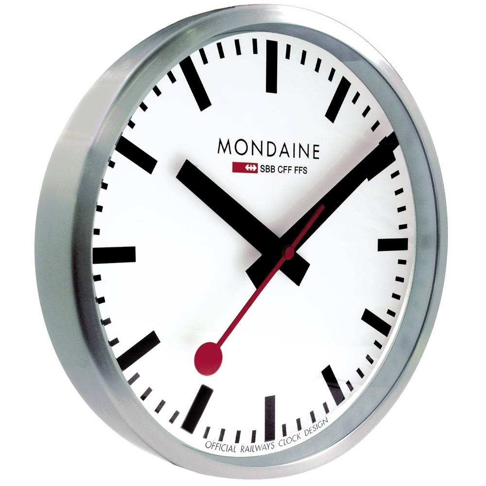 Mondaine Swiss Railway Wandklok Official Dealer Van