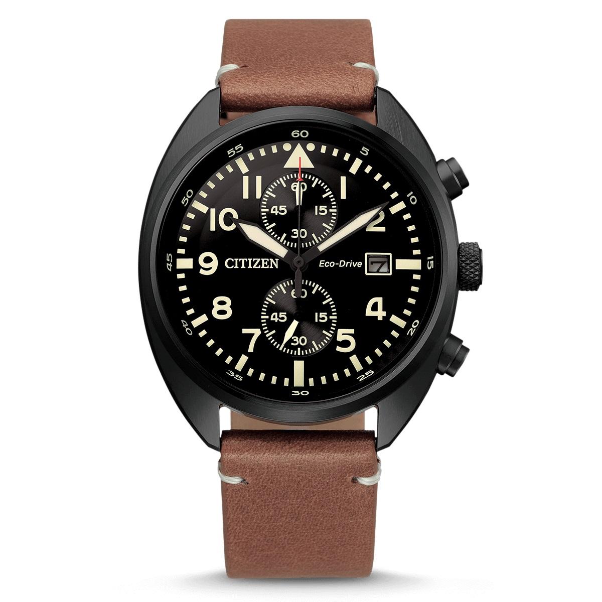 Citizen CA7045-14E Pilot Chrono Horloge