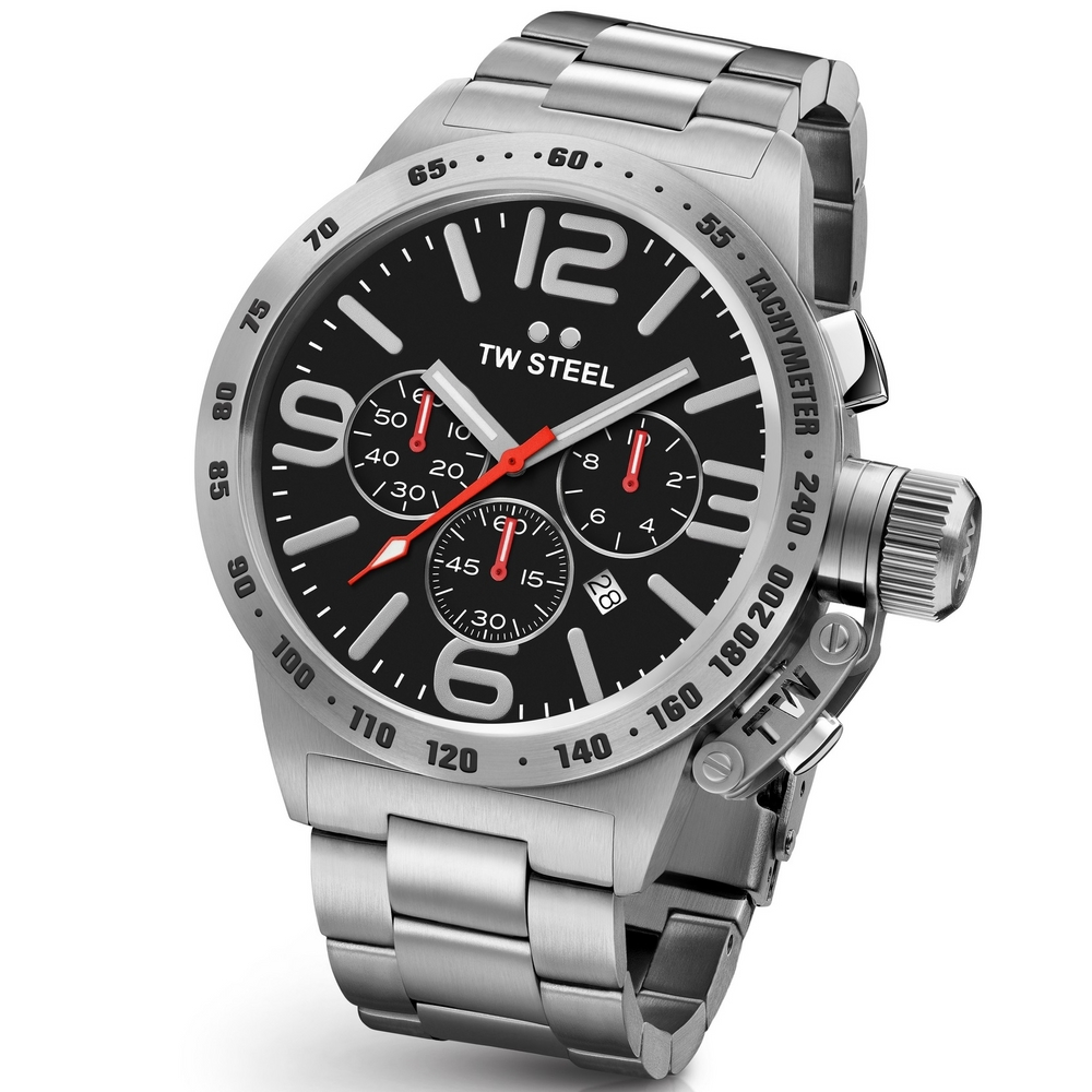 TW Steel Canteen CB8 Bracelet Chrono 50 mm