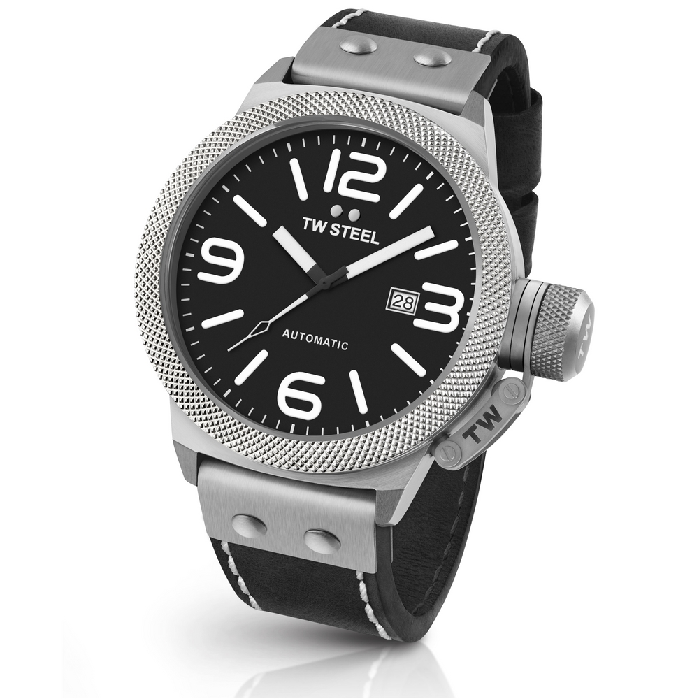 TW Steel Canteen Leather CS5 Automatic 45mm