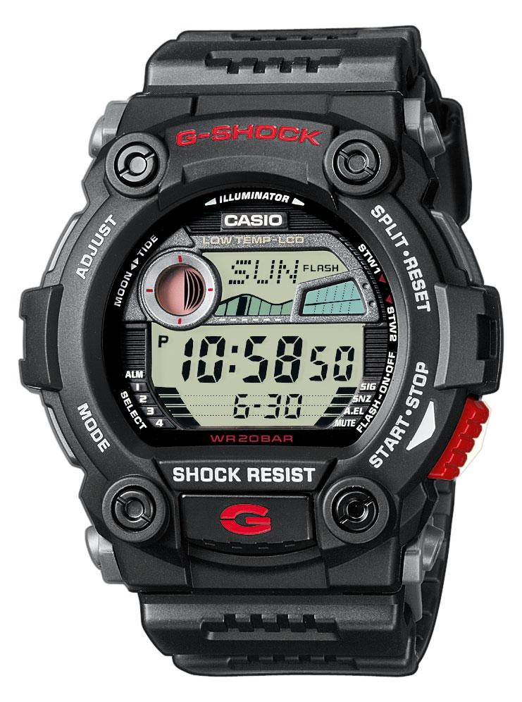 Digitaal schokbestendig sporthorloge G-Shock G-7900-1ER zwart