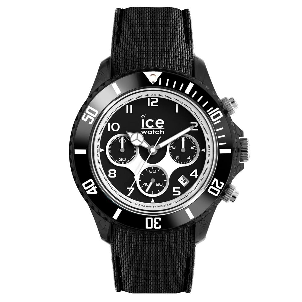 Ice-Dune Chrono Large Black Horloge