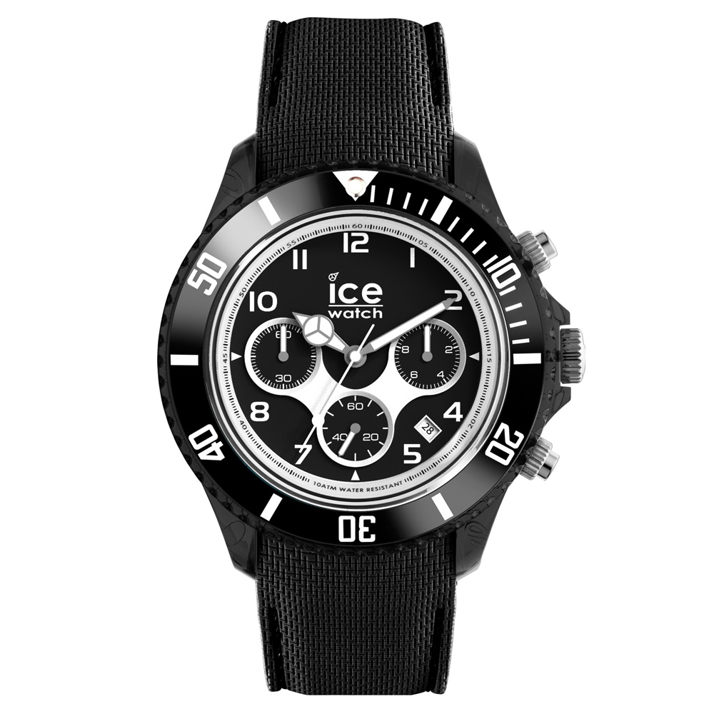 Ice-Dune Chrono XL Black Horloge