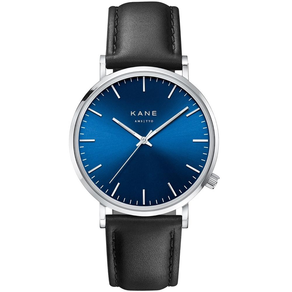 Kane Blue Arctic Classic Black Horloge