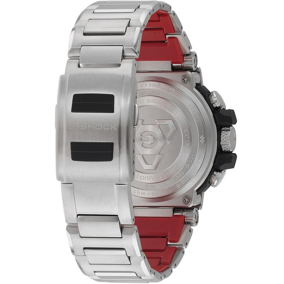 G Shock Zwart Met Rood.Casio Metal Twisted G Shock Official Premium G Shock Dealer
