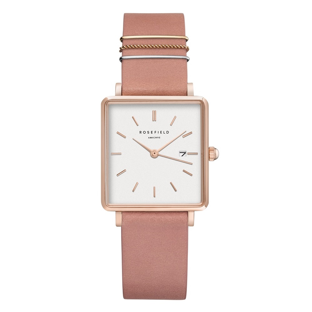 Rosefield The Boxy White Old Pink Rosegold