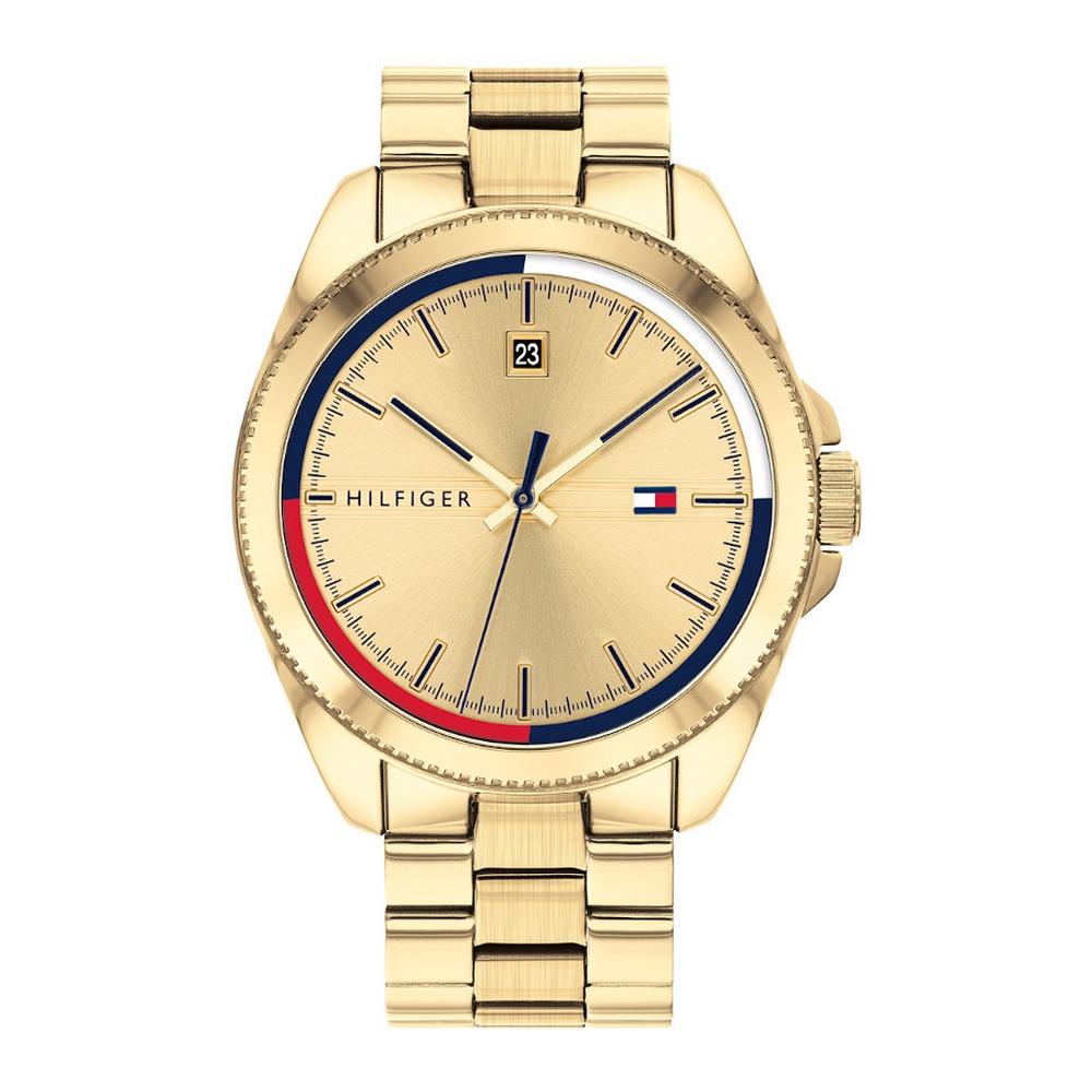 Tommy Hilfiger TH1791686 Horloge Staal Goudkleurig Heren
