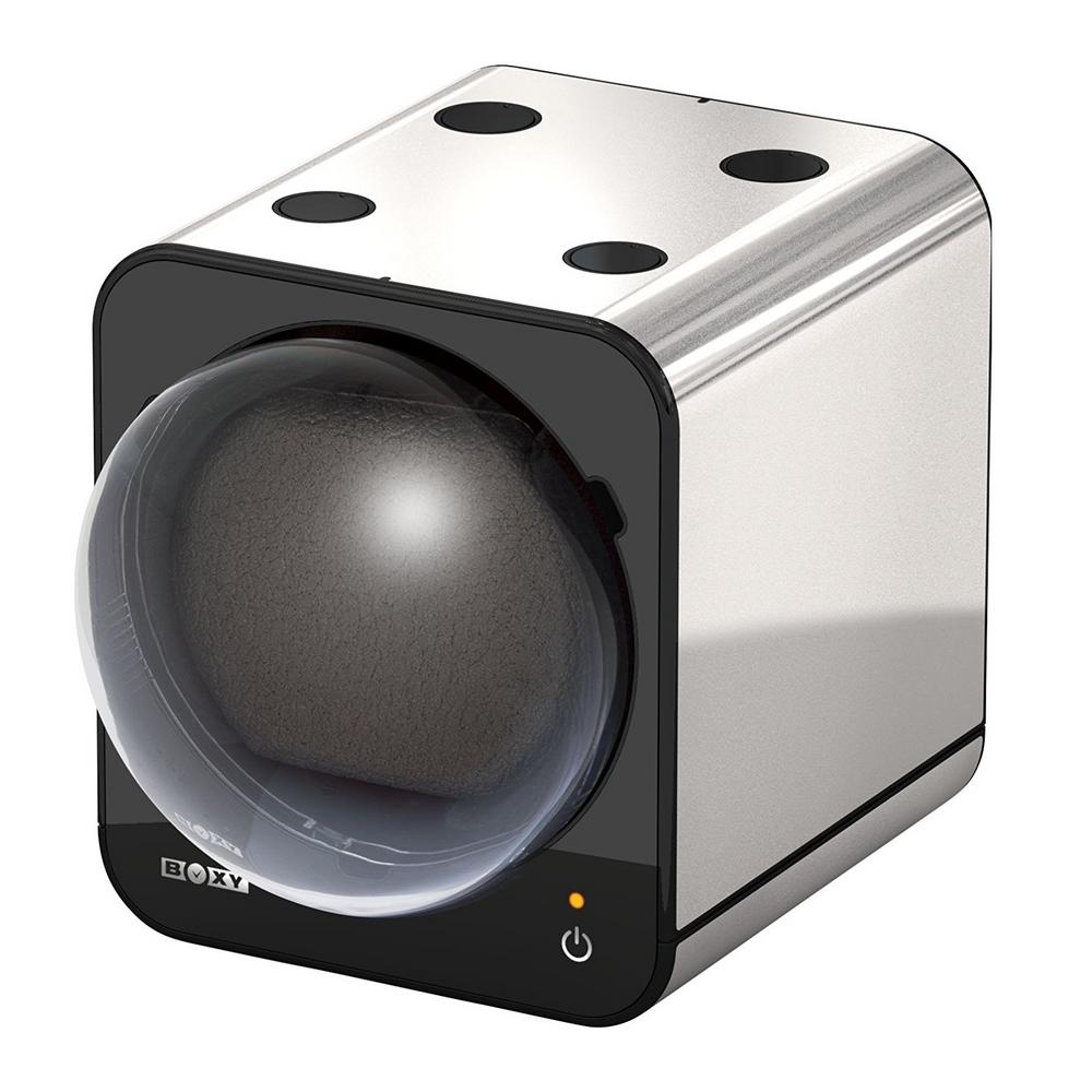 Beco Boxy Fancy Brick Platinum Watchwinder