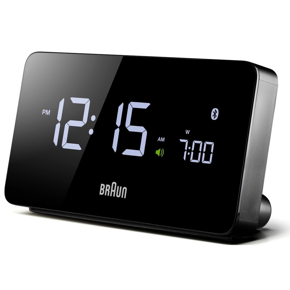 Braun Digitale Wekker BNC020 Bluetooth Connected