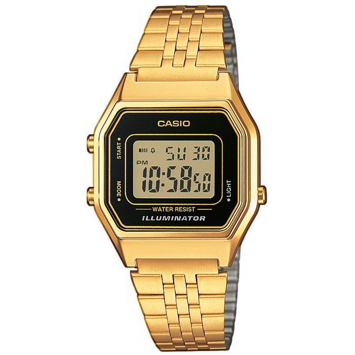 Casio Collection LA680WEGA-1ER Retro Horloge