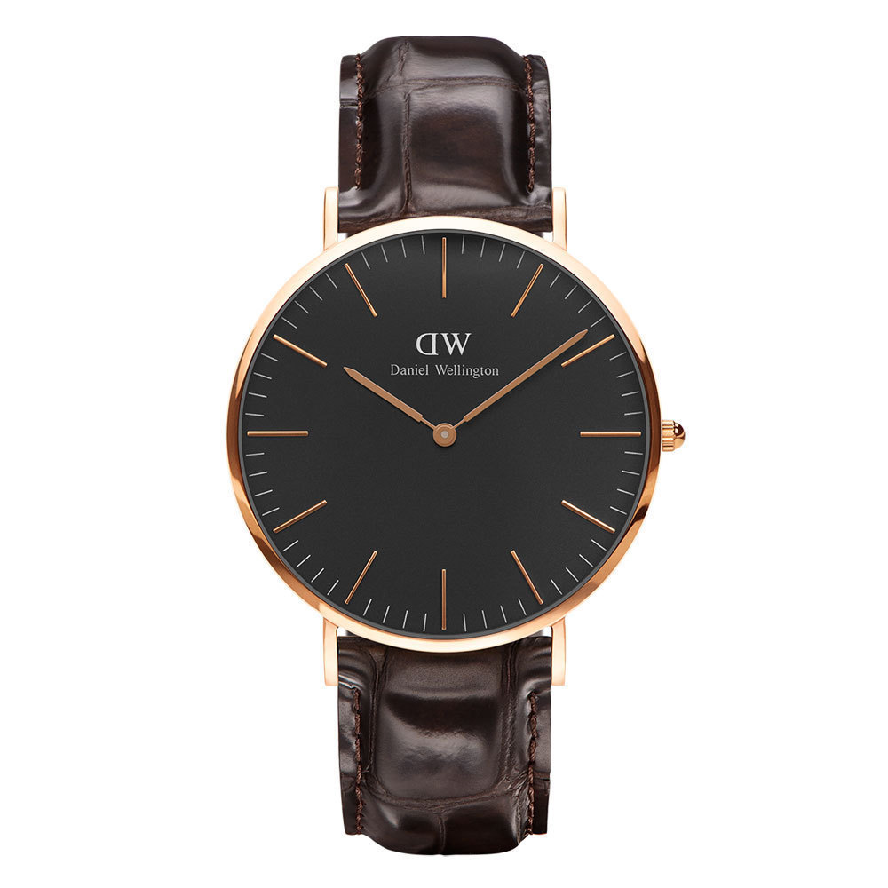 Daniel Wellington Classic Black 40mm York Rosegold